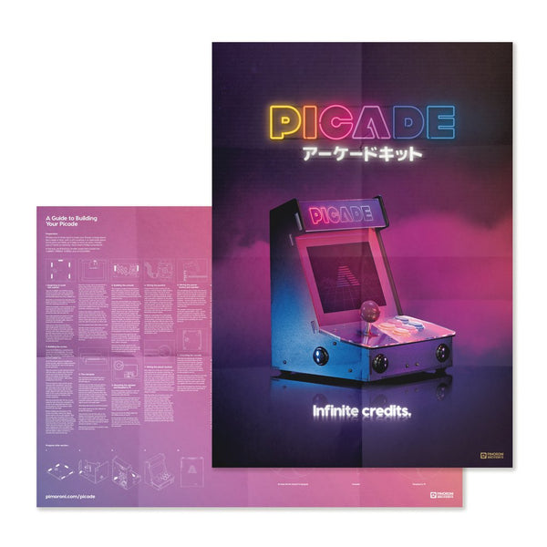 Pimoroni Picade Kit for Raspberry Pi