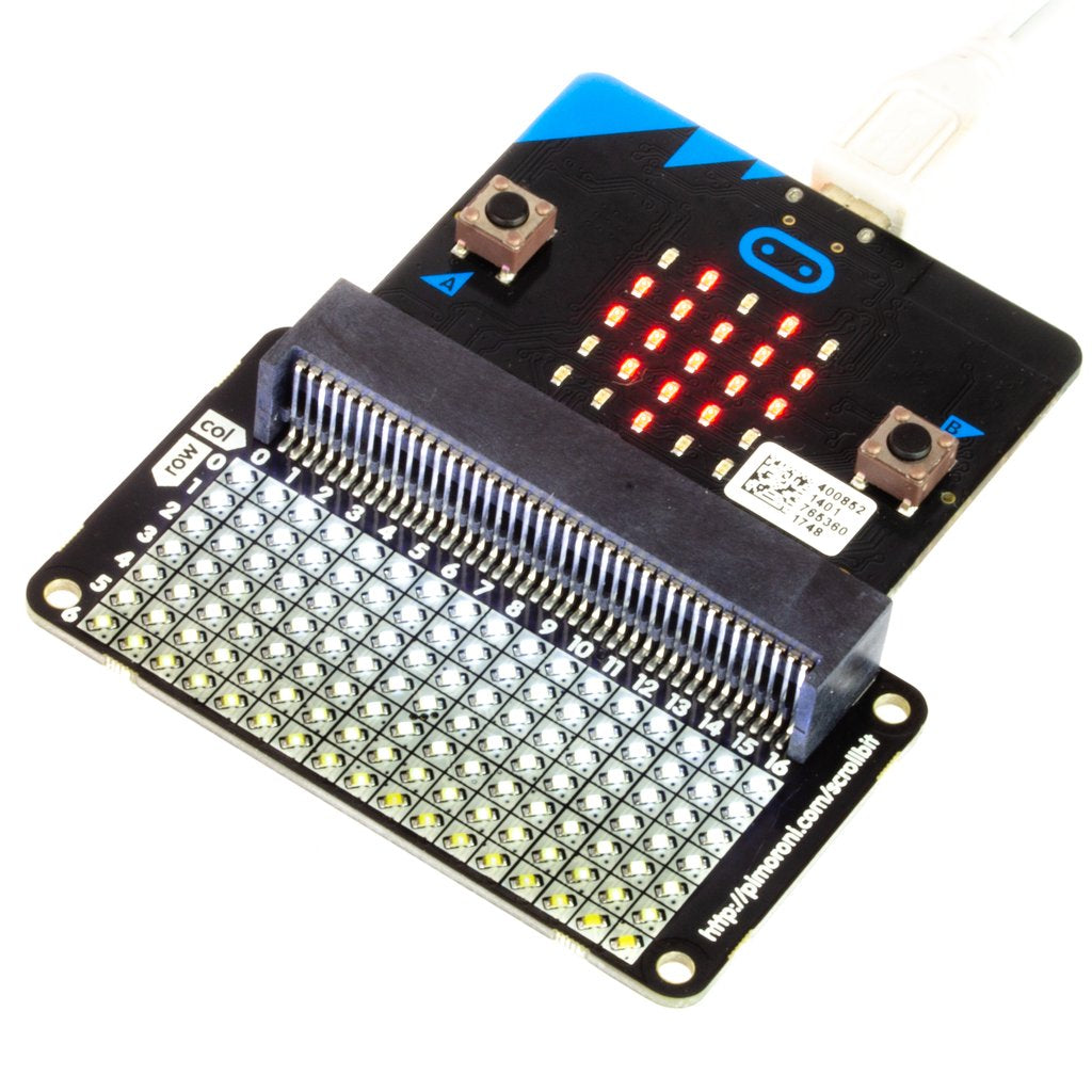 Pimoroni scroll:bit for BBC micro:bit