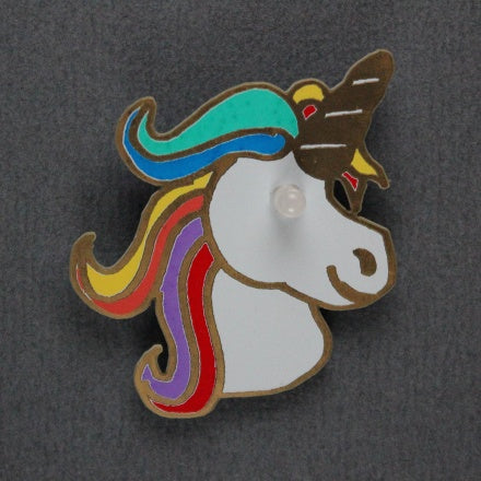 Proto-PIC Unigeek - A Unicorn Badge Soldering Kit