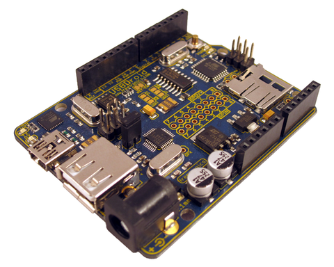 USBDroid (Arduino Uno compatible with onboard Android/USB Host)