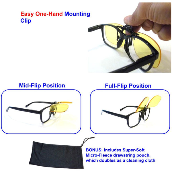 4532d38a1cf Shooting UV Safety Glasses Clip-On Fit Over Prescription - shopiLumen8