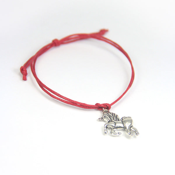 Best friends made of good stuff- unicorn wish bracelet
