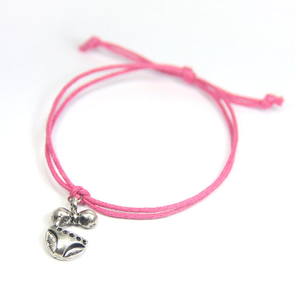 Happiness life is a beach- bikini wish bracelet