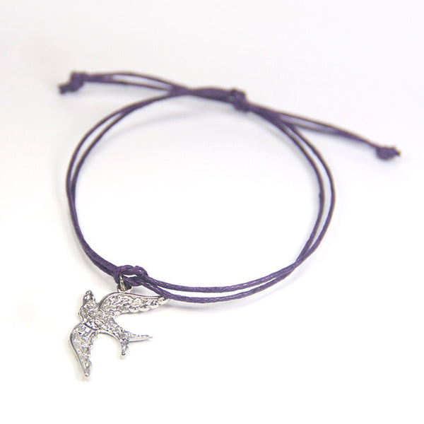 Freedom be free-spirited- dove wish bracelet