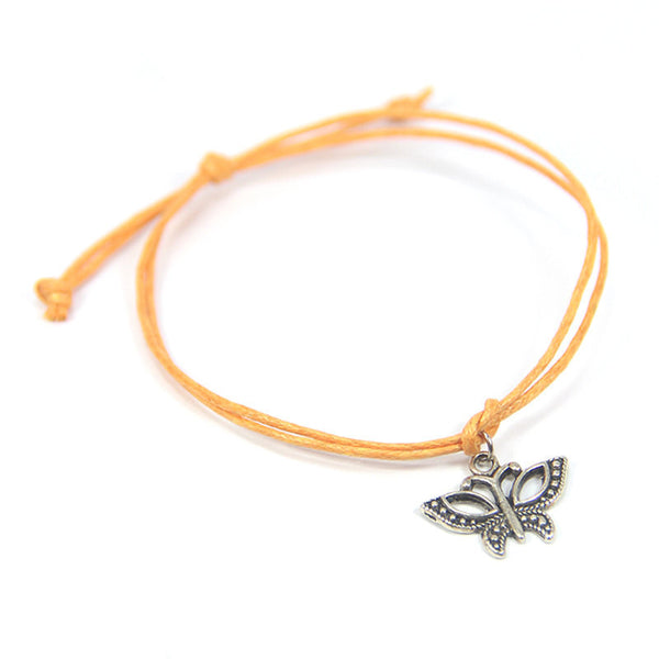 New beginnings change from within- butterfly wish bracelet