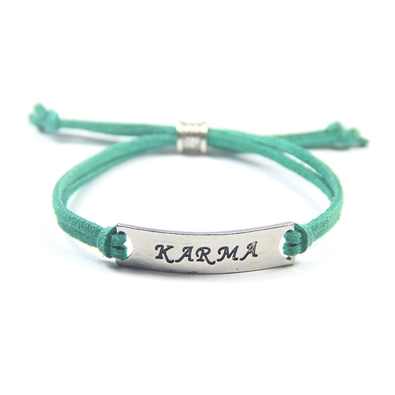 Karma Statement Bracelet