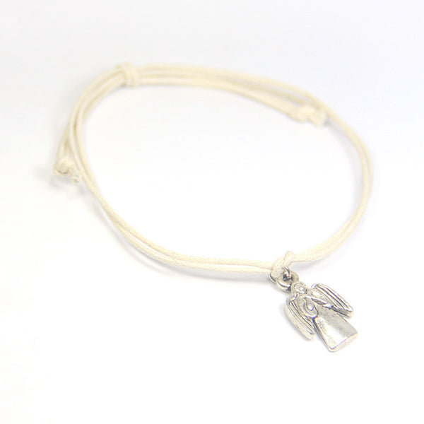 Guidance angels surround you- guardian angel wish bracelet