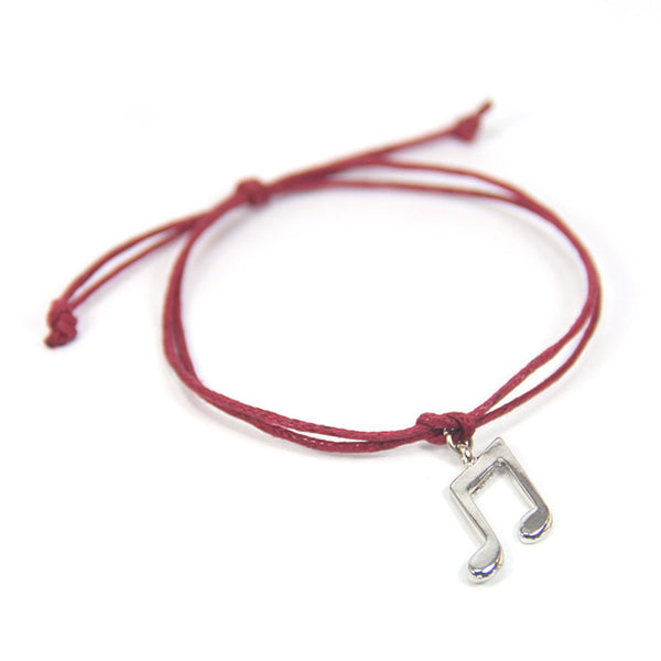 Harmony find the melody to your soul- music note wish bracelet