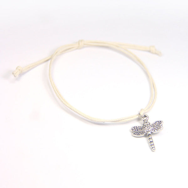 Freedom be free-spirited- dragonfly wish bracelet