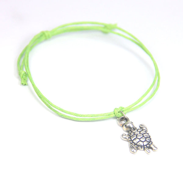 Luck may good fortune come your way- turtle wish bracelet