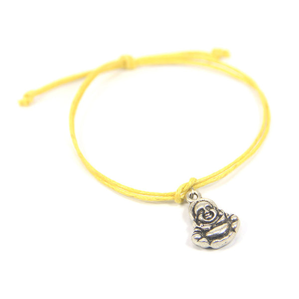 Namaste my soul honors your soul- happy buddha wish bracelet