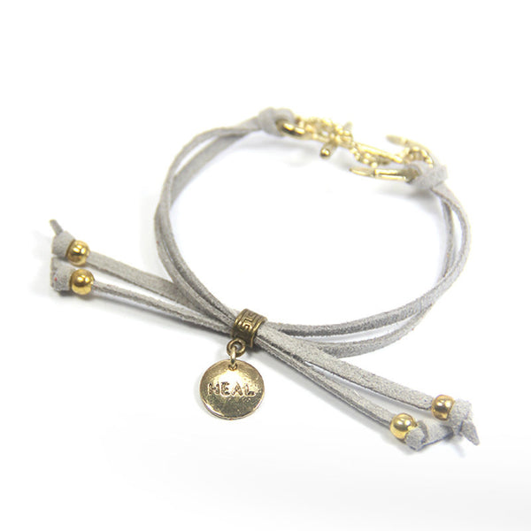 Keep on Sailing- Heal Anchor Bracelet