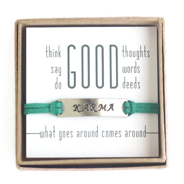 Good Karma Bracelet in a gift box