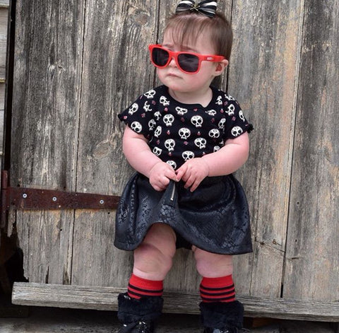 Moody Jude Australia sunglasses children's accessories brand rep Bella