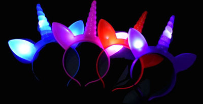 Unicorn Party Light Headband