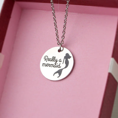 """Really A Mermaid"" Pendant Necklace - Well Pick Review"