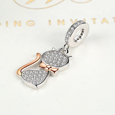 Sparkling Cat Charm