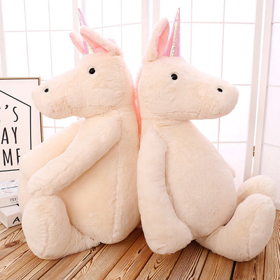 Big Fluffy Unicorn Soft Plush Toy - Well Pick Review