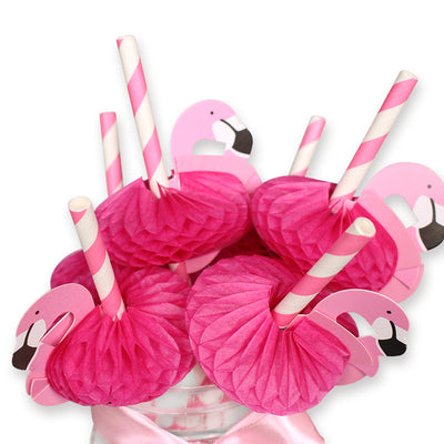 12pcs Flamingo Decoration Drinking Straws - Well Pick Review