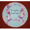 146cm Mermaid Blue Round Towel - Well Pick Review