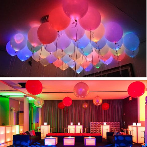 15Pcs/lot 12 Inches LED Balloons
