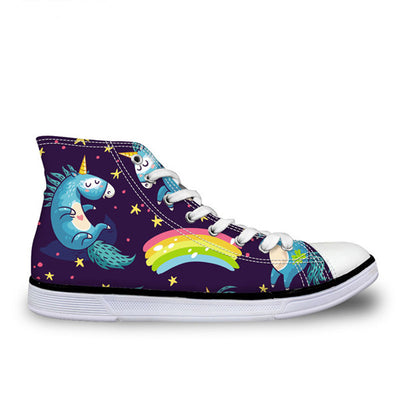 [Limited Edition] Unicorn High Top Shoes