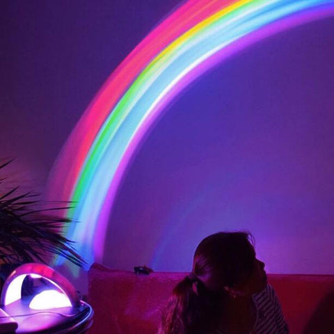 Magical Rainbow Light Projector Lamp