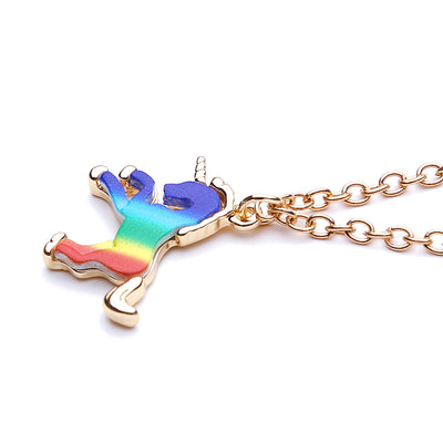 Colorful Unicorn Pendant Necklace - Well Pick Review