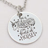 """Be a unicorn in a field of horses"" Necklace & Keychain - Well Pick Review"