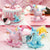 2Pcs/Set Wooden Unicorn Cake Decor
