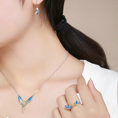 Fairy Crystal Necklace Ring Set - Well Pick Review