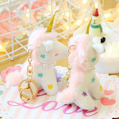 Cute Unicorn Plush Toy Keychain - Well Pick Review