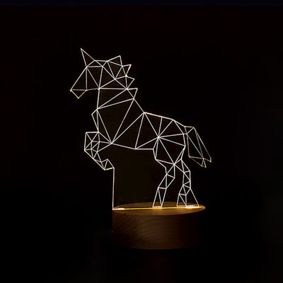 7 Changing Rainbow Light Unicorn Lamp - Well Pick Review