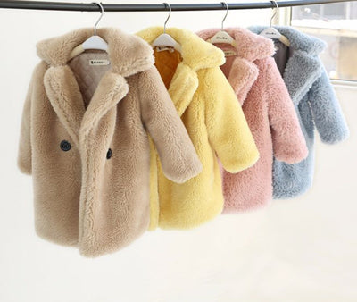 Baby Warm Fur Coat