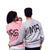 Mr & Mrs Letter Print Couple Sweatshirts