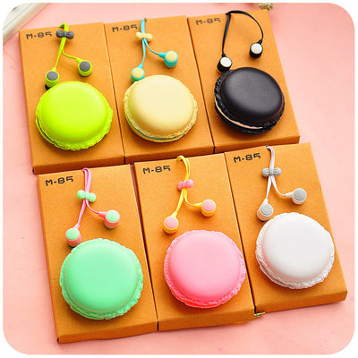 New Macaroons Color in-ear Earphones