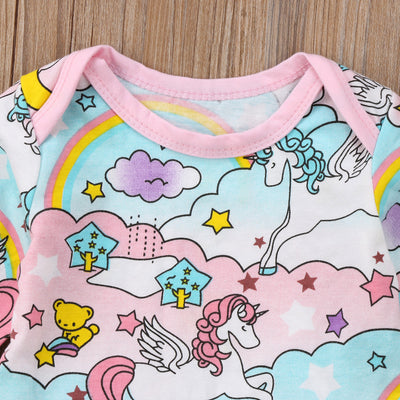 Unicorn Baby Girl Dress