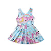 Baby Girls Unicorn Rainbow Floral Dress - Well Pick Review
