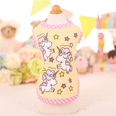 Cute Unicorn Dog Cloth