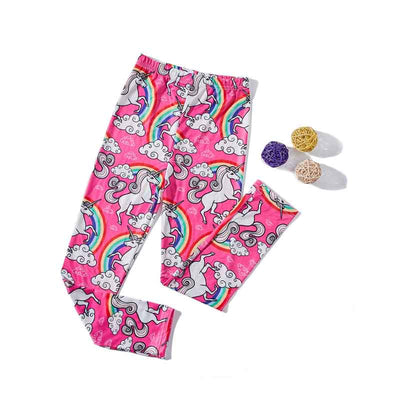 New Girls Pink Leggings Pants