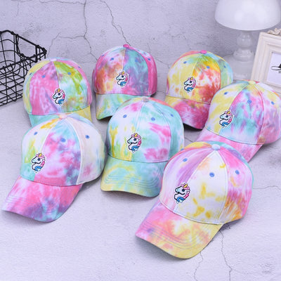 Harajuku Unicorn Colorful Cap