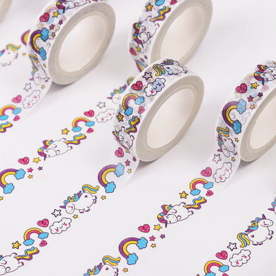 2pcs Cartoon Rainbow Unicorn Decorative Tape - Well Pick Review