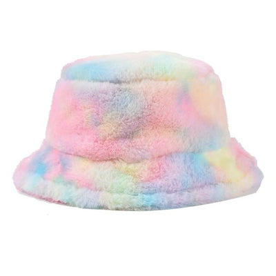 Faux Fur Women Bucket Hat