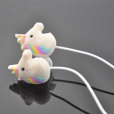 Rainbow Color Unicorn Earphone
