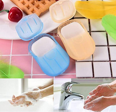 Paper Disposable Mini Soap