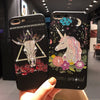 Unicorn Bling Black Phone Case