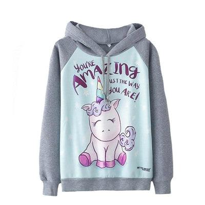 Autumn Unicorn Hooded Sweatshirt - Well Pick Review