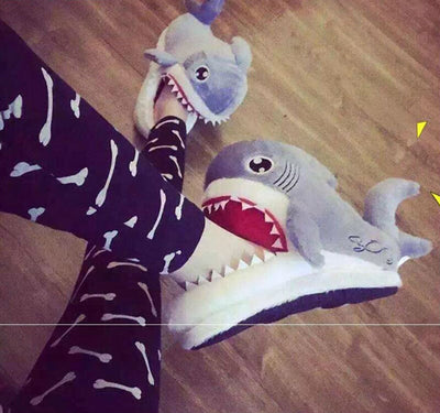 Hungry Shark Slippers