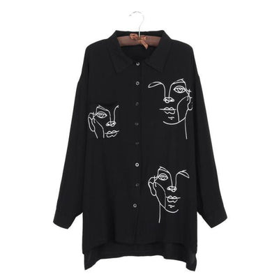 Spring Autumn Women Blouse