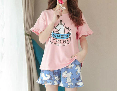 Summer Unicorn Pyjamas